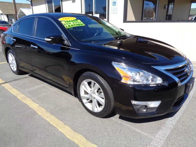 2015 Nissan Altima for sale at BBL Auto Sales in Yakima WA
