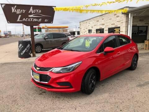 2017 Chevrolet Cruze for sale at Valley Auto Locators in Gering NE