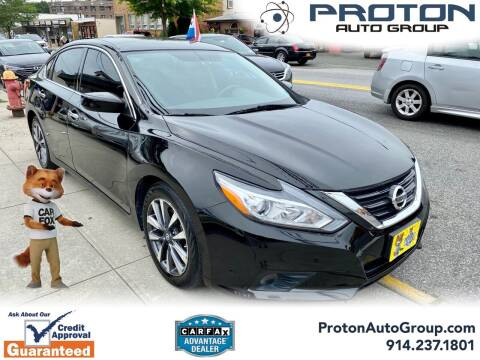 2017 Nissan Altima for sale at Proton Auto Group in Yonkers NY