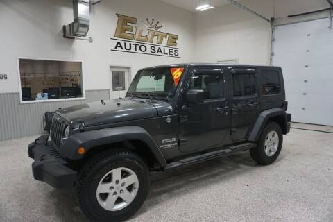 2010 Jeep Wrangler Unlimited for sale at Elite Auto Sales in Ammon ID
