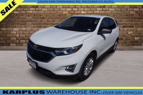 2018 Chevrolet Equinox for sale at Karplus Warehouse in Pacoima CA