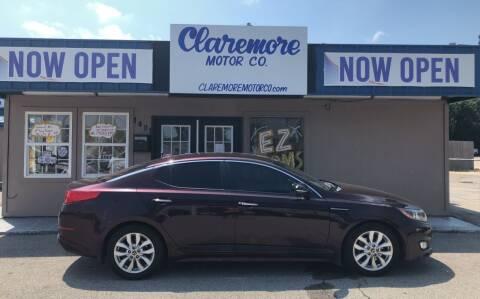 2014 Kia Optima for sale at Claremore Motor Company in Claremore OK
