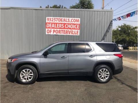 2018 Chevrolet Traverse for sale at Dealers Choice Inc in Farmersville CA