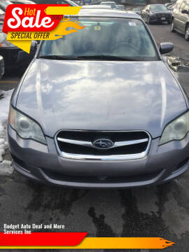 2008 Subaru Legacy for sale at Budget Auto Deal and More Services Inc in Worcester MA
