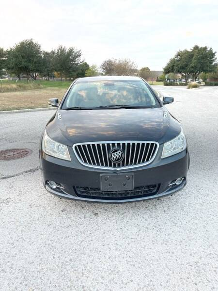 2013 Buick LaCrosse for sale at Central Motor Company in Austin TX