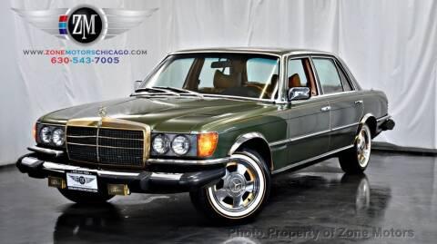 1977 Mercedes-Benz 450-Class for sale at ZONE MOTORS in Addison IL
