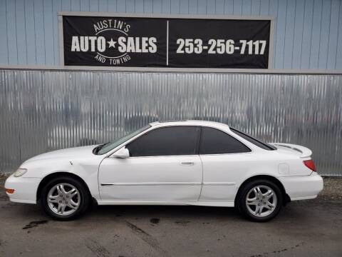 1998 Acura CL for sale at Austin's Auto Sales in Edgewood WA