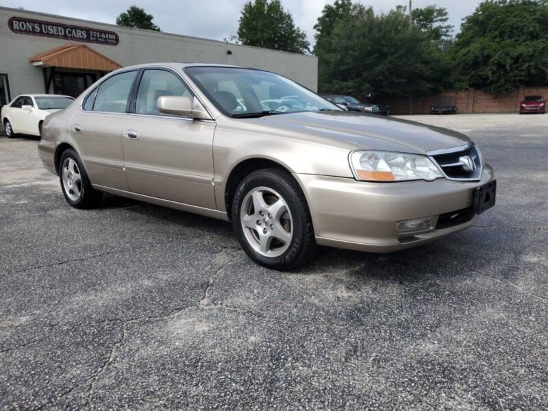 2003 Acura TL for sale at Ron's Used Cars in Sumter SC
