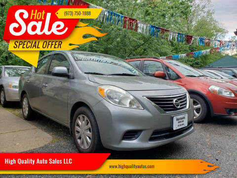 2013 Nissan Versa for sale at High Quality Auto Sales LLC in Bloomingdale NJ