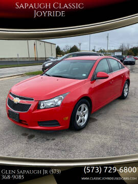 2014 Chevrolet Cruze for sale at Sapaugh Classic Joyride in Salem MO