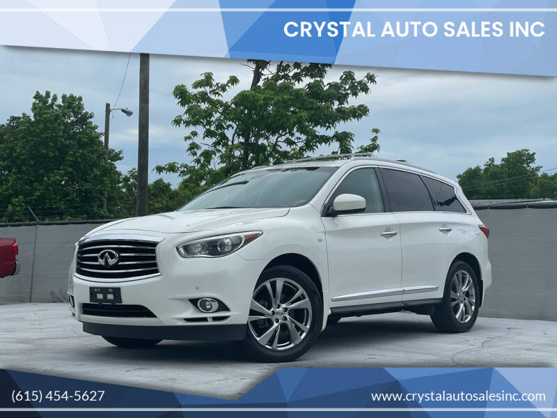 2014 Infiniti QX60 for sale at Crystal Auto Sales Inc in Nashville TN