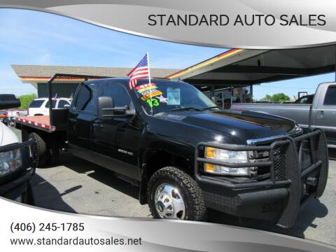 2013 Chevrolet Silverado 3500HD for sale at Standard Auto Sales in Billings MT