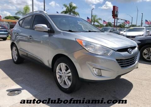 2013 Hyundai Tucson for sale at AUTO CLUB OF MIAMI in Miami FL