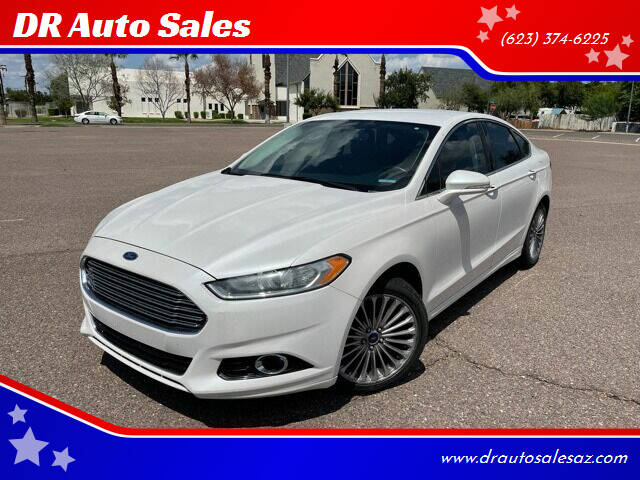 2014 Ford Fusion for sale at DR Auto Sales in Glendale AZ