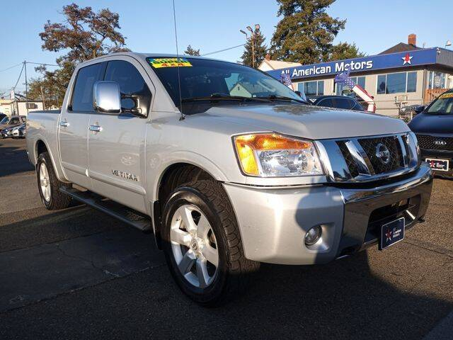 2010 Nissan Titan for sale at All American Motors in Tacoma WA