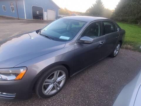 2012 Volkswagen Passat for sale at Eau Claire Auto Exchange in Elk Mound WI