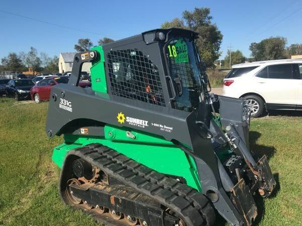 2018 John Deere 331G for sale at SUNSET CURVE AUTO PARTS INC in Weyauwega WI