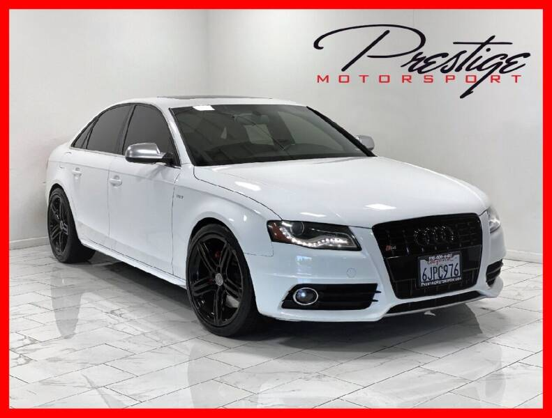 2010 Audi S4 for sale at Prestige Motorsport in Rancho Cordova CA