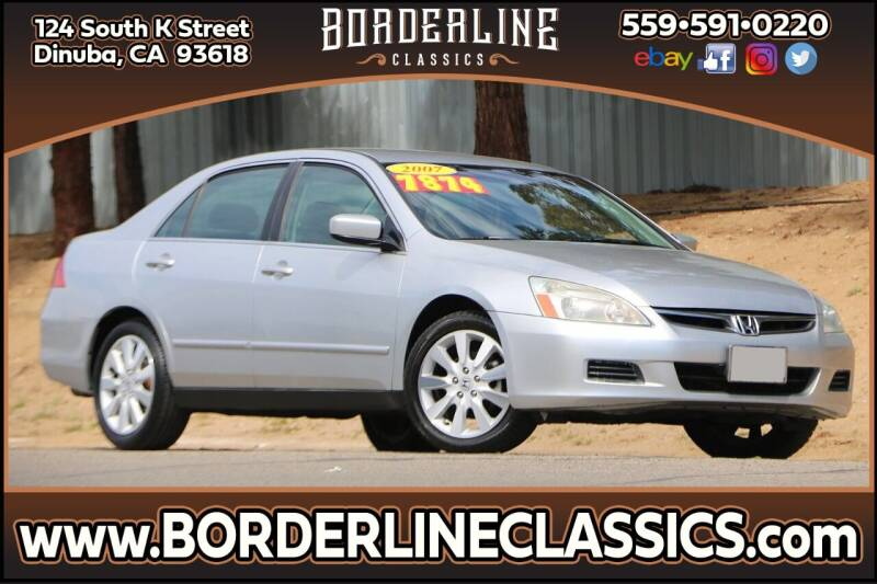 2007 Honda Accord for sale at Borderline Classics in Dinuba CA