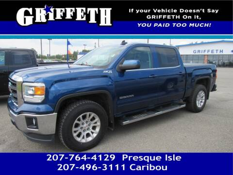 2015 GMC Sierra 1500 for sale at Griffeth Mitsubishi - Pre-owned in Caribou ME