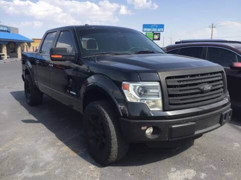 2013 Ford F-150 for sale at SPEND-LESS AUTO in Kingman AZ