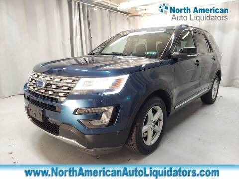 2016 Ford Explorer for sale at North American Auto Liquidators in Essington PA