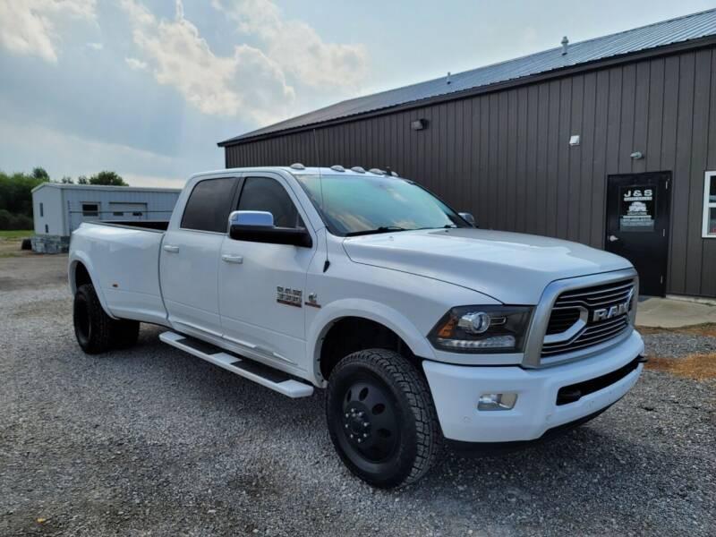 2018 RAM Ram Pickup 3500 for sale at J & S Auto Sales in Blissfield MI