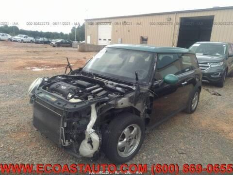 2009 MINI Cooper Clubman for sale at East Coast Auto Source Inc. in Bedford VA