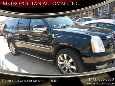 2008 Cadillac Escalade ESV for sale at Metropolitan Automan, Inc. in Chicago IL