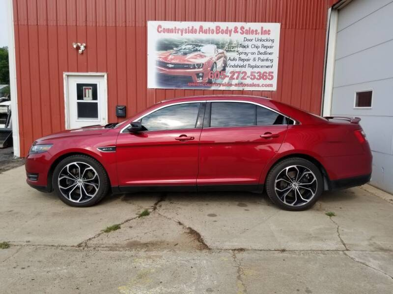 2015 Ford Taurus for sale at Countryside Auto Body & Sales, Inc in Gary SD