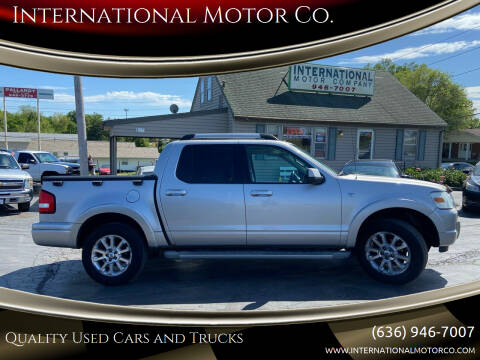 2007 Ford Explorer Sport Trac for sale at International Motor Co. in St. Charles MO