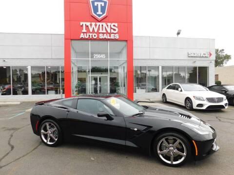 2014 Chevrolet Corvette for sale at Twins Auto Sales Inc Redford 1 in Redford MI