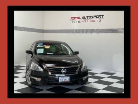 2014 Nissan Altima for sale at Royal AutoSport in Sacramento CA