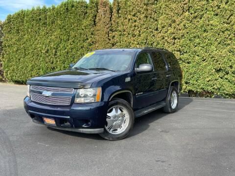 2007 Chevrolet Tahoe for sale at Yaktown Motors in Union Gap WA