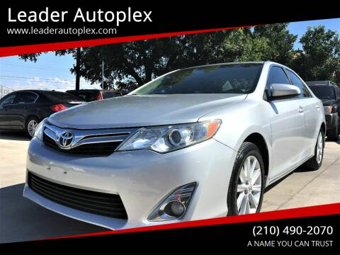 2012 Toyota Camry for sale at Leader Autoplex in San Antonio TX
