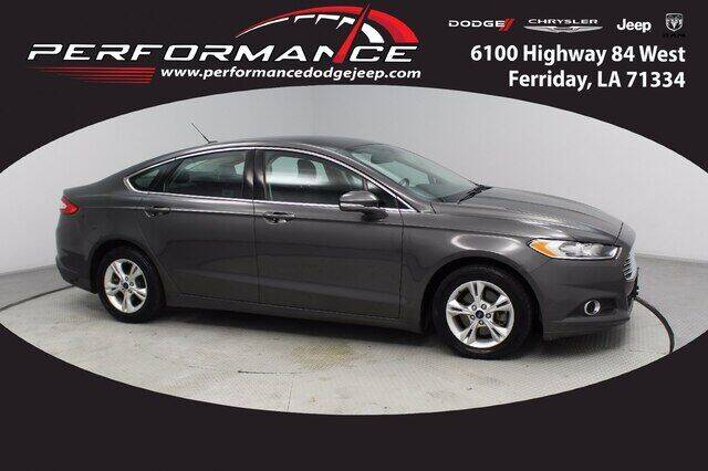 2015 Ford Fusion for sale at Performance Dodge Chrysler Jeep in Ferriday LA