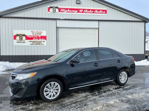 2012 Toyota Camry for sale at Highway 9 Auto Sales - Visit us at usnine.com in Ponca NE