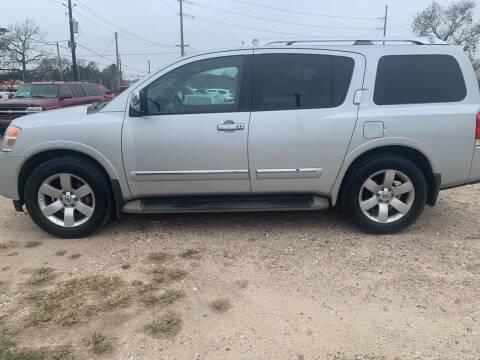 2012 Nissan Armada for sale at FAIR DEAL AUTO SALES INC in Houston TX