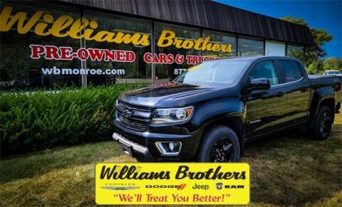2016 Chevrolet Colorado for sale at Williams Brothers - Pre-Owned Monroe in Monroe MI