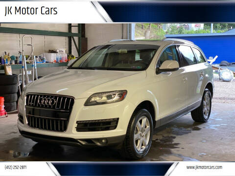 2014 Audi Q7 for sale at JK Motor Cars in Pittsburgh PA