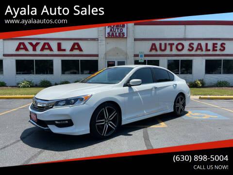2017 Honda Accord for sale at Ayala Auto Sales in Aurora IL