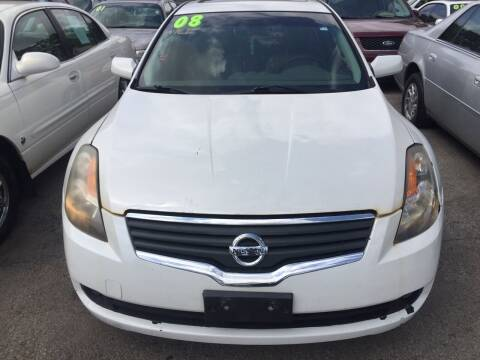 2008 Nissan Altima for sale at HW Used Car Sales LTD in Chicago IL