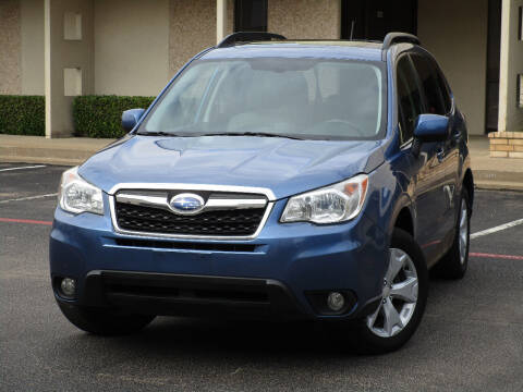 2015 Subaru Forester for sale at Ritz Auto Group in Dallas TX