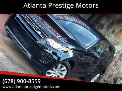 2016 Land Rover Discovery Sport for sale at Atlanta Prestige Motors in Decatur GA