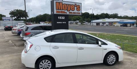 2012 Toyota Prius Plug-in Hybrid for sale at Moye's Auto Sales Inc. in Leesburg FL