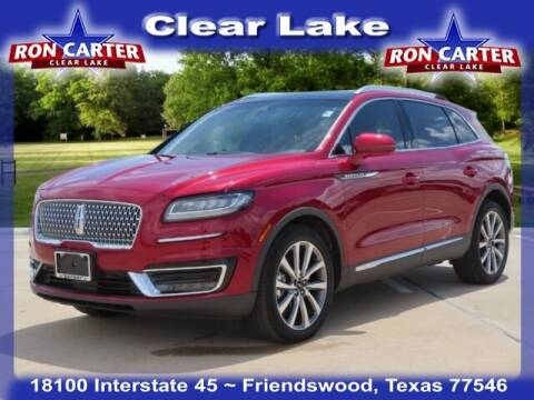 2019 Lincoln Nautilus for sale at Ron Carter  Clear Lake Used Cars in Houston TX