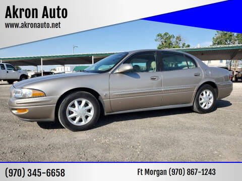 2004 Buick LeSabre for sale at Akron Auto in Akron CO