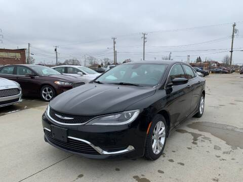 2015 Chrysler 200 for sale at Crooza in Dearborn MI
