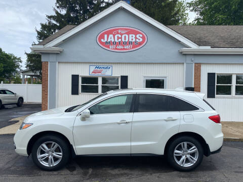2013 Acura RDX for sale at Jacobs Motors LLC in Bellefontaine OH