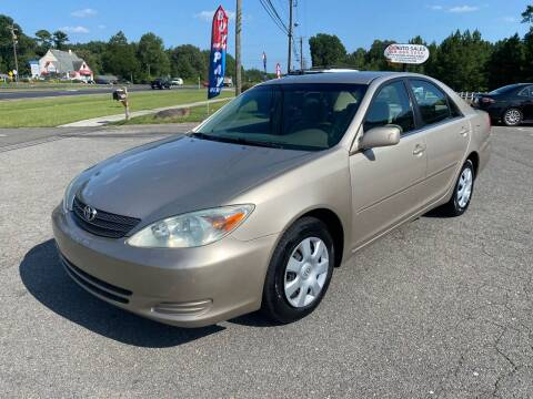 2004 Toyota Camry for sale at CVC AUTO SALES in Durham NC